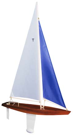 Toy model sailboat 19