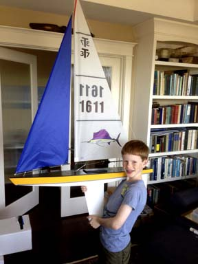 rc model sailboat 17