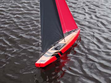 rc model sailboat 20