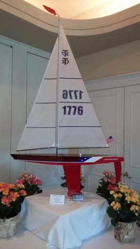 rc model sailboat 34