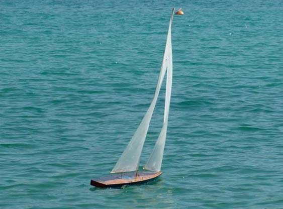 Matt's T37 rc sailboat | Tippecanoe Boats