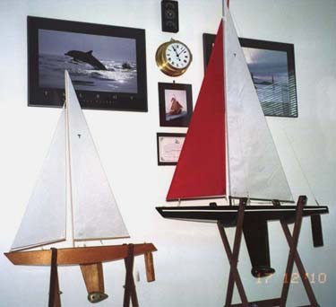 Theo's T27 and T37 RC model sailboats | Tippecanoe Boats