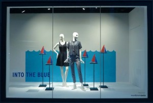Nordstrom's use of the T10s in their Seattle flagship store was very elegant.