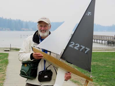 rc model sailboat 23