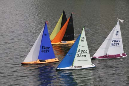 rc model sailboat 28
